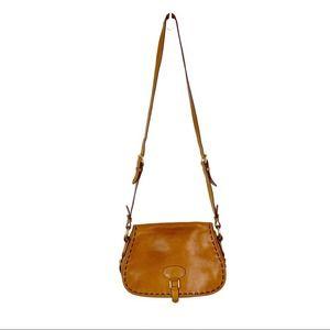 Dooney & Bourke Florentine Whipstitch Saddle Bag